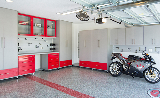 Closet factory for Top garage franchise